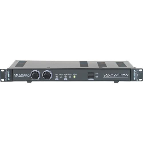 VocoPro 300W Professional Power Amplifier (1 RU) VP-300 PRO