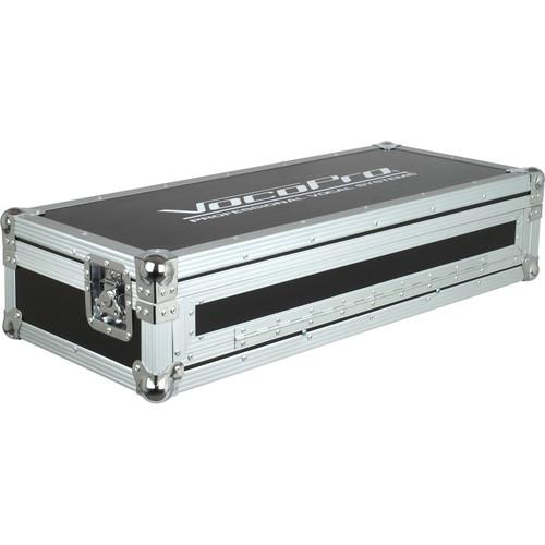 VocoPro Flight Case for KJ-6000 Mixer & 2 CDG-1020 FC-KJ1