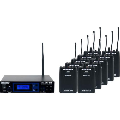 VocoPro SilentPA 16-Channel UHF Wireless SILENTPA-SEMINAR10