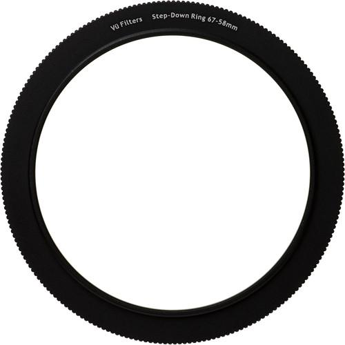Vu Filters 67-58mm Step-Down Ring for VFH75 Filter VSTR6758