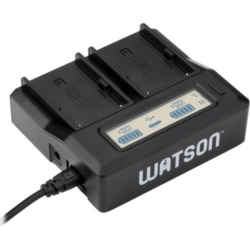 Watson Duo LCD Charger for BP-U Series Batteries D-4231
