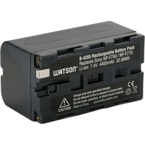 Watson NP-F770 Two-Battery Kit with Duo LCD Charger D-4203BKI