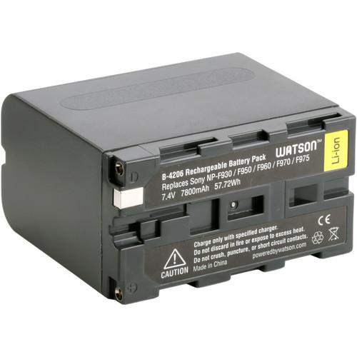 Watson NP-F975 Battery Kit with Compact AC/DC Charger C-4203BKII