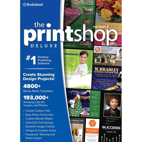 WD Encore Software The Print Shop Deluxe 4.0 LIC4139