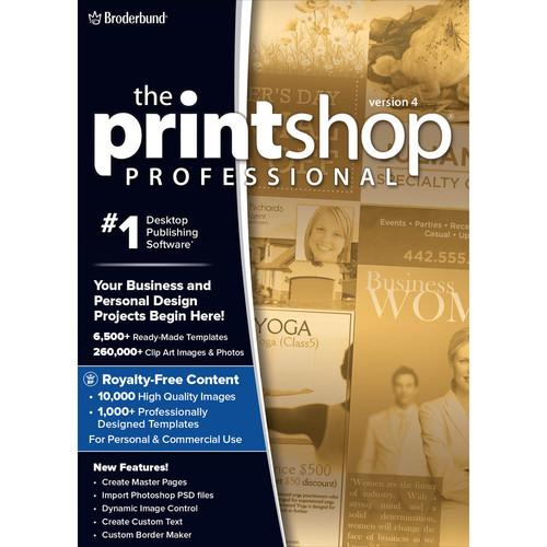 WD Encore Software The Print Shop Professional 4.0 LIC4140