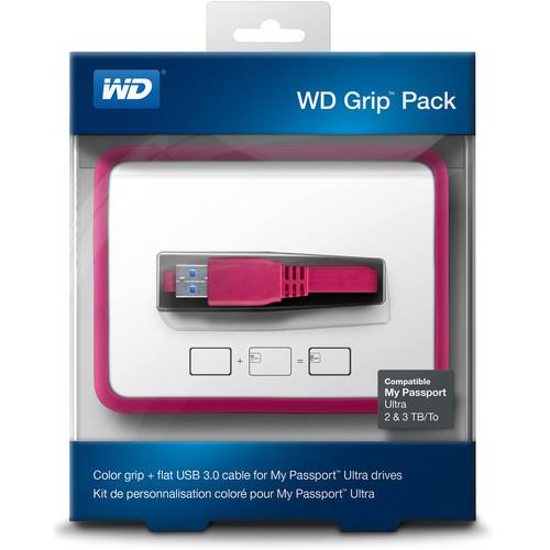 WD Grip Pack for 2TB & 3TB My Passport WDBFMT0000NPM-NASN