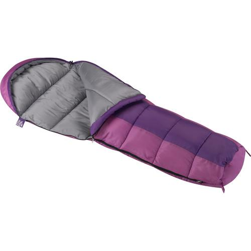 Wenzel Backyard 30° Sleeping Bag (Pink/Purple) 49662