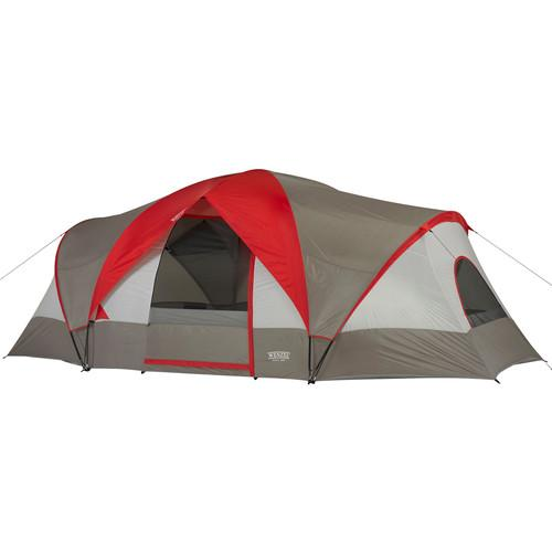 Wenzel  Great Basin 10 Tent (Red/Gray) 36499