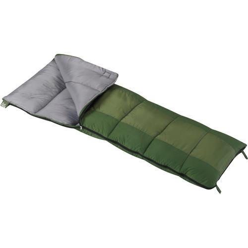 Wenzel Summer Camp 40° Sleeping Bag (Green) 49661