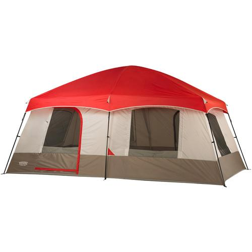 Wenzel  Timber Ridge 10 Tent (Red/Gray) 36500
