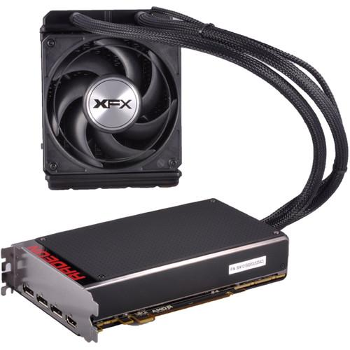 XFX Force Radeon R9 Fury X Graphics Card R9FURY4QFA