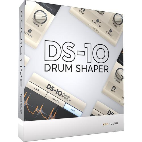 XLN Audio DS-10 Drum Shaper Plug-in (Download) XFX001SN