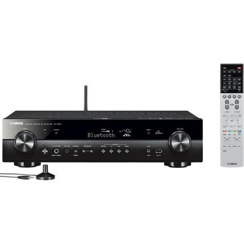 Yamaha RX-S601 5.1-Channel Slim Network A/V Receiver RX-S601BL
