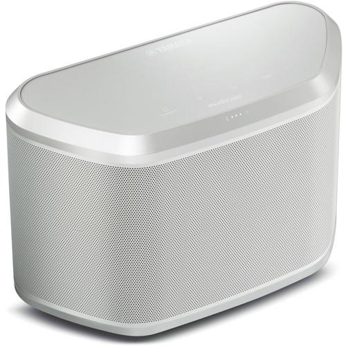 Yamaha WX-030 MusicCast Wireless Speaker (White/Silver) WX-030WH