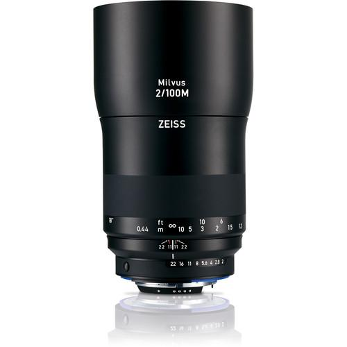 Zeiss Milvus 100mm f/2M ZF.2 Lens for Nikon F 2096-562