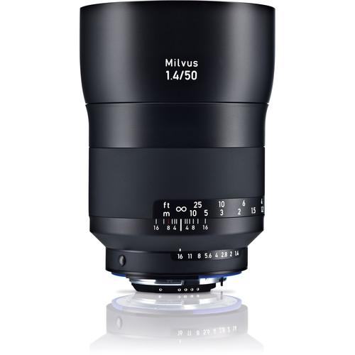 Zeiss Milvus 50mm f/1.4 ZF.2 Lens for Nikon F 2096-556