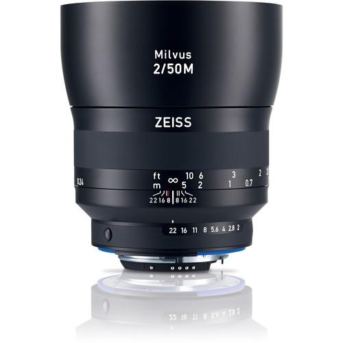 Zeiss Milvus 50mm f/2M ZF.2 Lens for Nikon F 2096-558