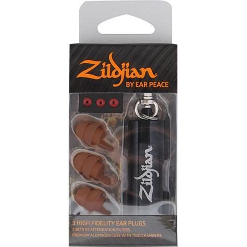 Zildjian  HD Earplugs (Set of 3, Dark) ZPLUGSD