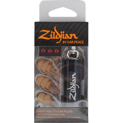 Zildjian  HD Earplugs (Set of 3, Tan) ZPLUGST