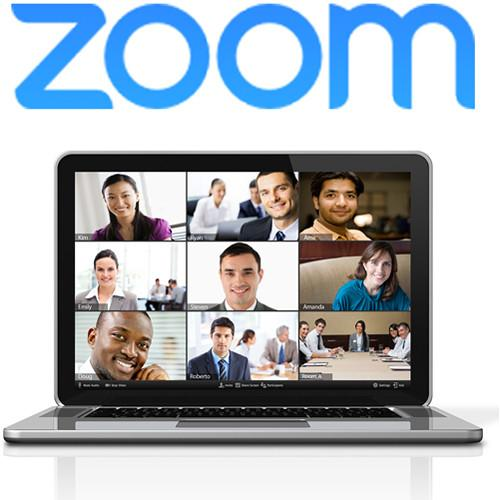 Zoom Video Conferencing Large Meeting Upgrade for up ZOOM-LM-100
