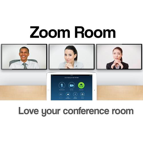 Zoom Video Conferencing Zoom Rooms Yearly Subscription ZOOM-ROOM