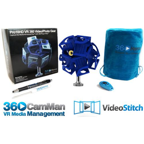 360Heros Pro10HD 360� Plug-n-Play Holder Kit PRO10MS