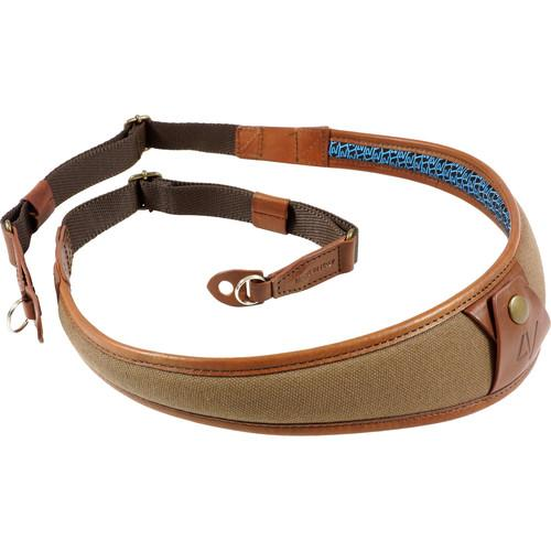 4V Design ALA Canvas and Leather Camera Neck Strap 2ALLRCV2223