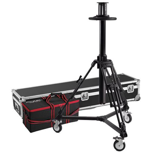 Acebil PD3800 Pedestal with Carrying Case & D5 Dolly PD3800