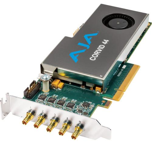 AJA Corvid 44 Low-Profile 8-Lane PCIe Express CORVID 44-S-NC1