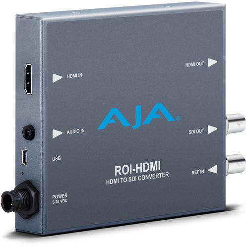 AJA HDMI to SDI Mini Converter with ROI Scaling ROI-HDMI