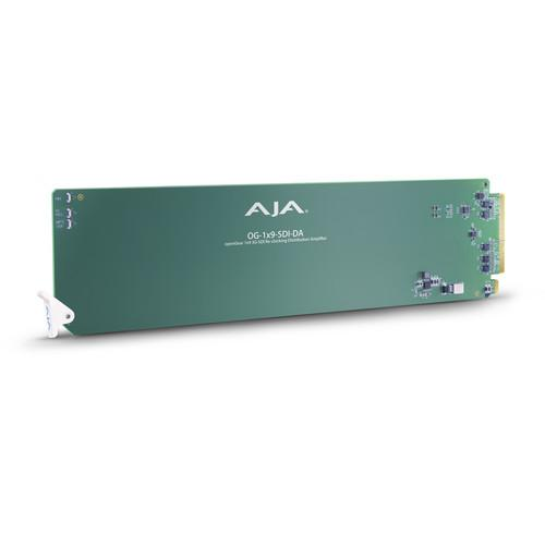 AJA openGear 1 x 9 3G-SDI Re-Clocking Distribution OG-1X9-SDI-DA