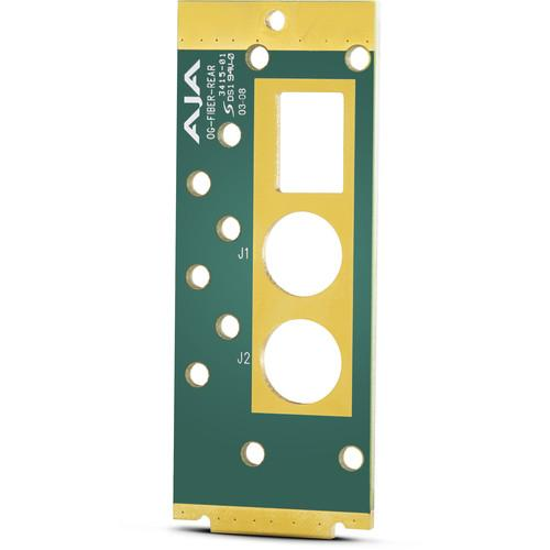 AJA openGear Rear Mounting Board for Fiber Modules OG-FIBER-REAR