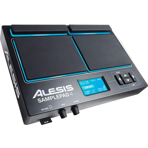 Alesis SamplePad 4, Four-Pad Percussion and SAMPLEPAD 4