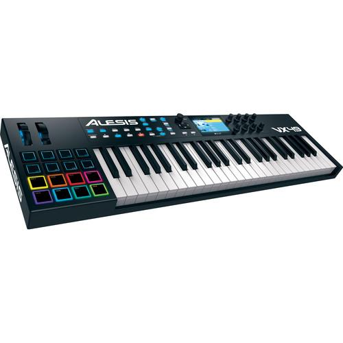 Alesis VX49 - USB/MIDI Controller with Full-Color Screen VX49