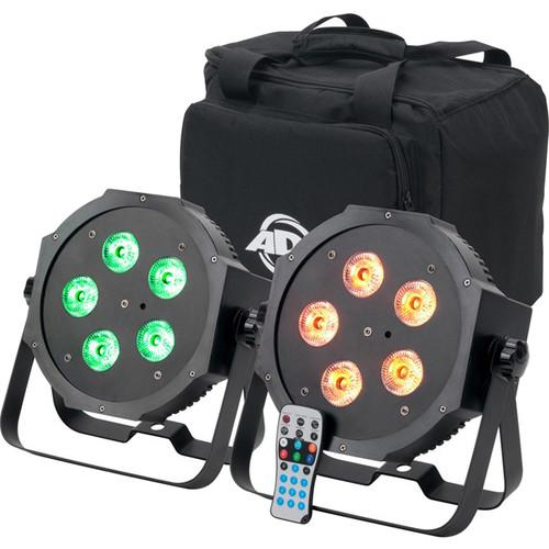 American DJ Mega 64 HEX Pak LED PAR Kit MEGA 64 HEX PACK