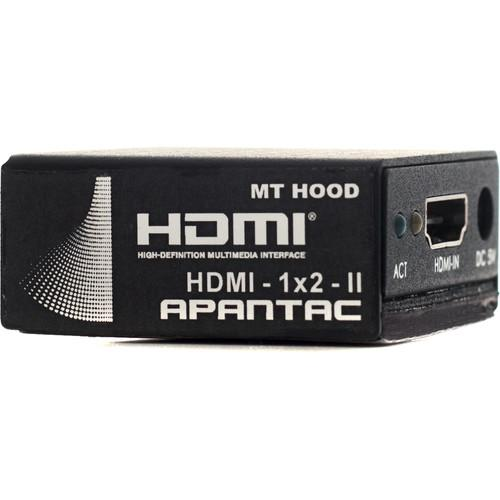 Apantac 1 x 2 HDMI Splitter (2nd Generation) HDMI-1X2-II