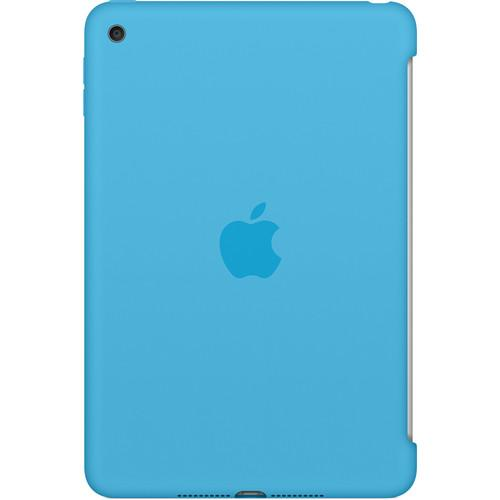 Apple  iPad mini 4 Silicone Case (Blue) MLD32ZM/A