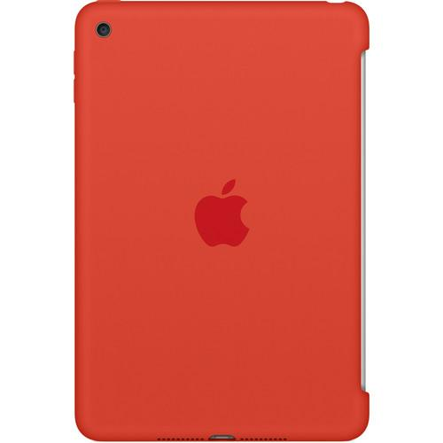 Apple iPad mini 4 Silicone Case (Orange) MLD42ZM/A