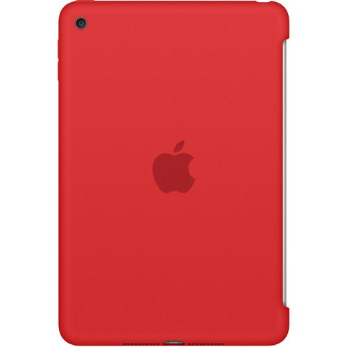 Apple  iPad mini 4 Silicone Case (Red) MKLN2ZM/A
