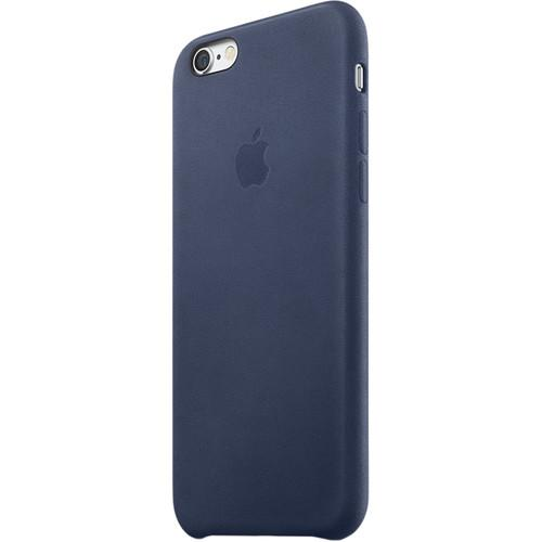 Apple iPhone 6/6s Leather Case (Midnight Blue) MKXU2ZM/A