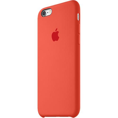 Apple iPhone 6/6s Silicone Case (Orange) MKY62ZM/A
