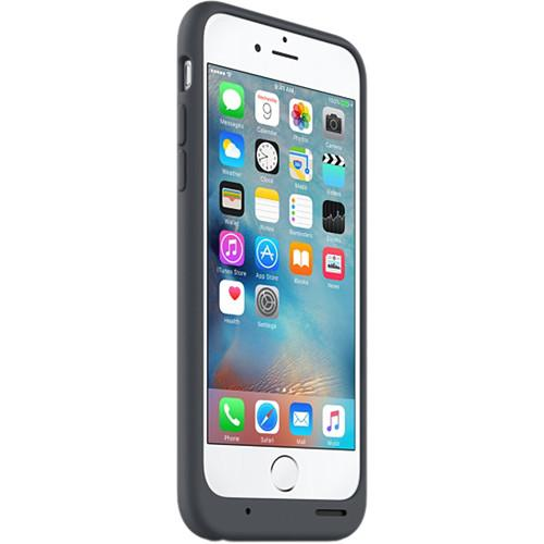 Apple iPhone 6/6s Smart Battery Case (Charcoal Gray) MGQL2LL/A
