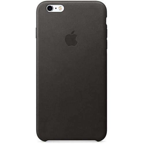 Apple iPhone 6 Plus/6s Plus Leather Case (Black) MKXF2ZM/A