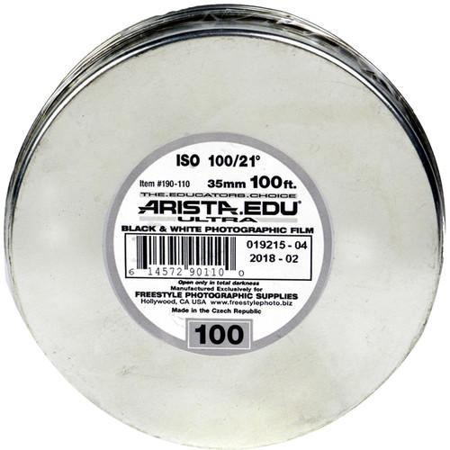 Arista EDU Ultra 100 Black and White Negative Film 190110