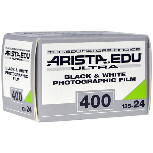 Arista EDU Ultra 400 Black and White Negative Film 190244