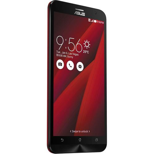 ASUS Glamour Red ZenFone 2 ZE551ML 64GB Smartphone Kit