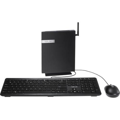 ASUS  Mini PC E410 Desktop Computer E410-B0105