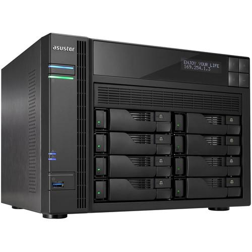 Asustor 8-Bay NAS Server with Intel Celeron 2.0 GHz AS5108T