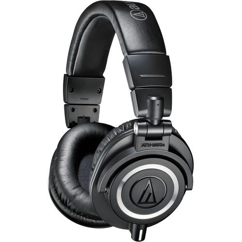Audio-Technica ATH-M50x Monitor Headphones Kit with Apogee