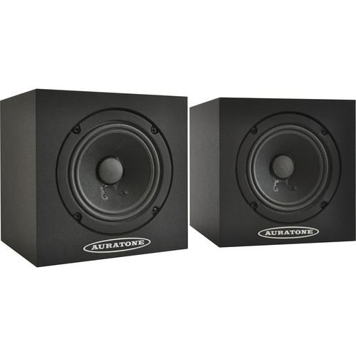 Auratone 5C Super Sound Cube Passive Studio 5C BLACK PAIR